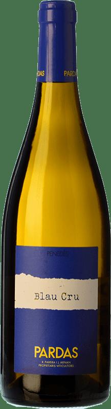 13,95 € Free Shipping | White wine Pardas Blau Cru D.O. Penedès Catalonia Spain Bottle 75 cl