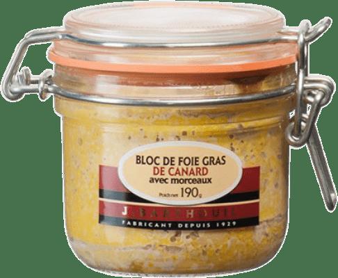 24,95 € Envío gratis | Foie y Patés J. Barthouil Bloc de Foie de Canard avec Morceaux Francia