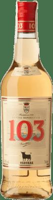 9,95 € Envío gratis | Brandy Osborne Bobadilla 103 D.O. Jerez-Xérès-Sherry España Botella 70 cl