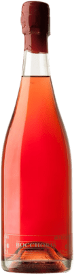 5,95 € Kostenloser Versand | Rosé Sekt Tianna Negre Bocchoris de Sais Rosat Brut Natur D.O. Cava Spanien Grenache, Monastrell Flasche 75 cl