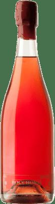 5,95 € Free Shipping | Rosé sparkling Tianna Negre Bocchoris de Sais Rosat Brut Nature D.O. Cava Spain Grenache, Monastrell Bottle 75 cl
