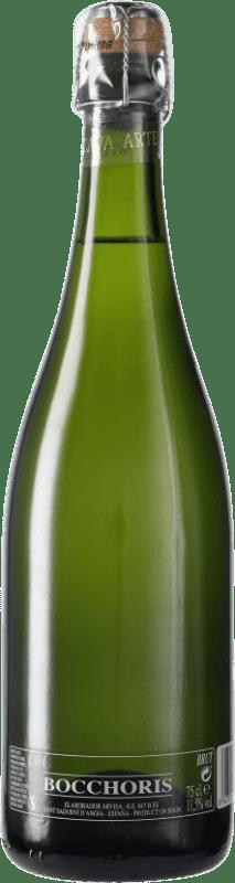 4,95 € Envío gratis | Espumoso blanco Tianna Negre Bocchoris de Sais Brut D.O. Cava España Macabeo, Xarel·lo, Parellada Botella 75 cl