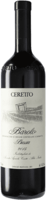 144,95 € Free Shipping | Red wine Ceretto Bussia D.O.C.G. Barolo Piemonte Italy Nebbiolo Bottle 75 cl