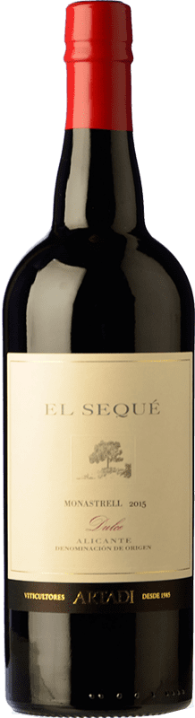 26,95 € Free Shipping | Red wine El Sequé by Artadi Sweet D.O. Alicante Spain Syrah, Monastrell Bottle 75 cl