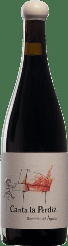 265,95 € Envío gratis | Vino tinto Dominio del Águila Canta la Perdiz D.O. Ribera del Duero Castilla y León España Tempranillo, Cariñena, Doña Blanca Botella 75 cl