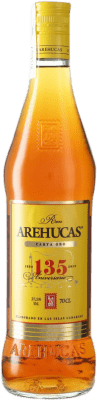 17,95 € Free Shipping | Rum Arehucas Carta Oro Canary Islands Spain Bottle 70 cl