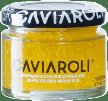 19,95 € Free Shipping | Conservas Vegetales Caviaroli Caviar de Aceite de Oliva Virgen Extra Encapsulado Spain