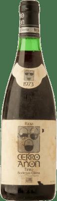 35,95 € Kostenloser Versand | Rotwein Olarra Cerro Añón Crianza 1973 D.O.Ca. Rioja Spanien Tempranillo, Graciano, Mazuelo Flasche 72 cl