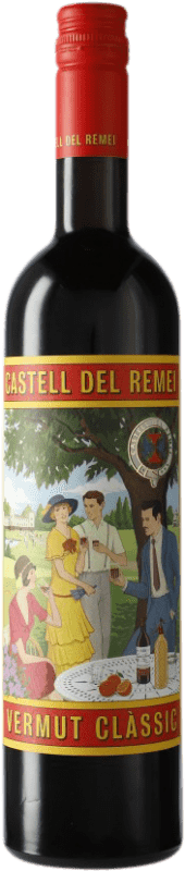 8,95 € Envío gratis | Vermut Castell del Remei Clàssic Cataluña España Botella 75 cl