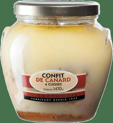 26,95 € Free Shipping | Foie y Patés J. Barthouil Confit de Canard 4 Cuisses France