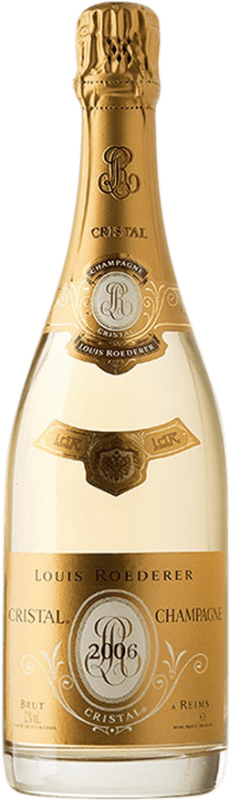 634,95 € Free Shipping | White sparkling Louis Roederer Cristal Brut 2006 A.O.C. Champagne Champagne France Pinot Black, Chardonnay Magnum Bottle 1,5 L