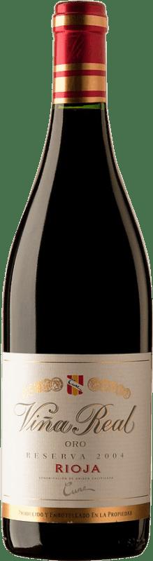 29,95 € Free Shipping | Red wine Norte de España - CVNE Cune Viña Real Reserva D.O.Ca. Rioja Spain Bottle 75 cl