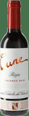 3,95 € Envoi gratuit   Vin rouge Norte de España - CVNE Cune Crianza D.O.Ca. Rioja Espagne Demi Bouteille 37 cl