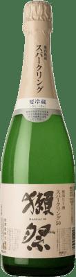 37,95 € Free Shipping | Sake Asahi Shuzo Dassai Sparkling Nigori Japan Bottle 72 cl