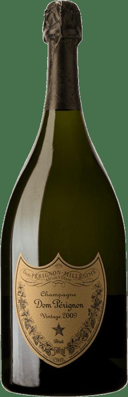 509,95 € Free Shipping | White sparkling Moët & Chandon Dom Pérignon 2009 A.O.C. Champagne Champagne France Pinot Black, Chardonnay Magnum Bottle 1,5 L