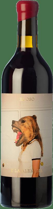 8,95 € Envoi gratuit | Vin rouge Máquina & Tabla El Oso y La Alemana D.O. Toro Castille et Leon Espagne Grenache, Tinta de Toro Bouteille 75 cl