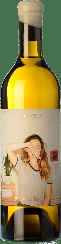 8,95 € Free Shipping | White wine Máquina & Tabla El Oso y La Alemana D.O. Toro Castilla y León Spain Malvasía, Verdejo Bottle 75 cl