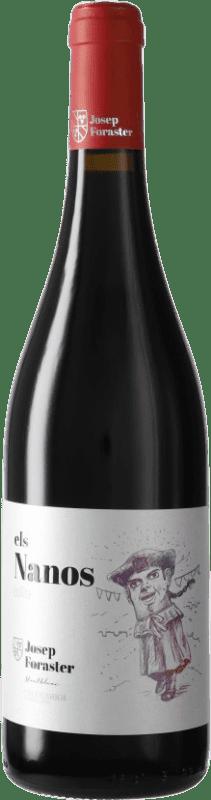 5,95 € Free Shipping | Red wine Josep Foraster Els Nanos Collita D.O. Conca de Barberà Catalonia Spain Tempranillo, Cabernet Sauvignon, Trepat Bottle 75 cl