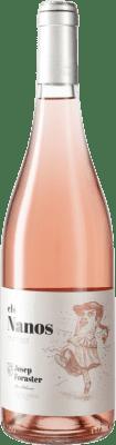 11,95 € Free Shipping | Rosé wine Josep Foraster Els Nanos Rosat D.O. Conca de Barberà Catalonia Spain Trepat Bottle 75 cl