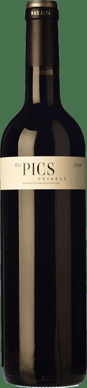36,95 € Envío gratis | Vino tinto Mas Alta Els Pics D.O.Ca. Priorat Cataluña España Botella Mágnum 1,5 L