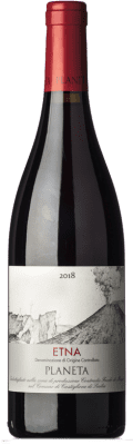28,95 € Free Shipping | Red wine Planeta Etna Rosso I.G.T. Terre Siciliane Sicily Italy Bottle 75 cl