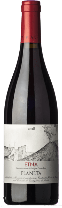 17,95 € Free Shipping   Red wine Planeta Etna Rosso I.G.T. Terre Siciliane Sicily Italy Bottle 75 cl