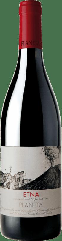 17,95 € Envoi gratuit | Vin rouge Planeta Etna Rosso I.G.T. Terre Siciliane Sicile Italie Bouteille 75 cl