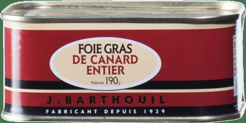 42,95 € Free Shipping | Foie y Patés J. Barthouil Foie Grass de Canard Entier France