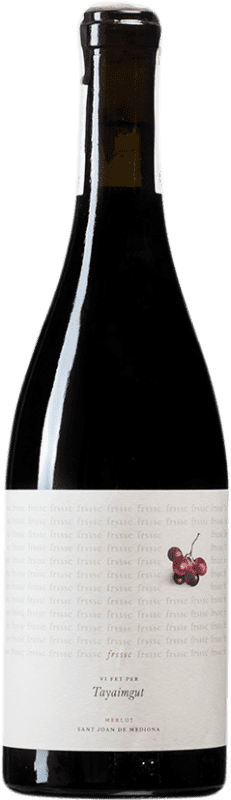 8,95 € Free Shipping   Red wine Tayaimgut Frssc D.O. Penedès Catalonia Spain Merlot Bottle 75 cl
