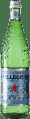 2,95 € Envío gratis | Agua San Pellegrino Gas Sparkling Italia Botella 75 cl
