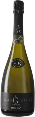 56,95 € Free Shipping | White sparkling Torelló Gran Torelló Grandes Añadas Brut Nature 2010 Corpinnat Spain Bottle 75 cl