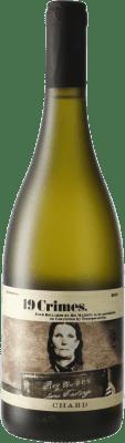 8,95 € Kostenloser Versand | Weißwein 19 Crimes Hard Chard I.G. Southern Australia Südaustralien Australien Chardonnay Flasche 75 cl