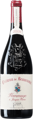 617,95 € Free Shipping | Red wine Château Beaucastel Hommage à Jacques Perrin 2009 A.O.C. Châteauneuf-du-Pape France Syrah, Mourvèdre Bottle 75 cl