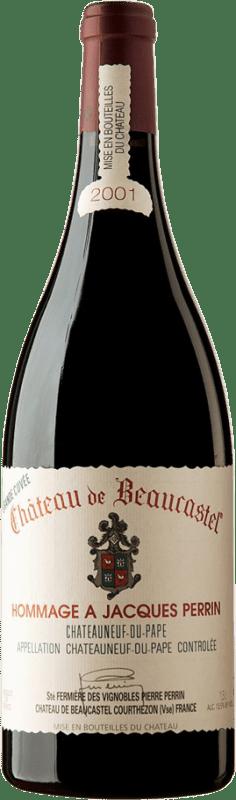 803,95 € Free Shipping | Red wine Château Beaucastel Hommage à Jacques Perrin 2001 A.O.C. Châteauneuf-du-Pape France Syrah, Mourvèdre Magnum Bottle 1,5 L