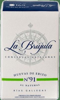 29,95 € Free Shipping | Conservas de Marisco La Brújula Huevas de Erizo al Natural Spain