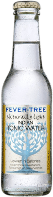 1,95 € Free Shipping | Refreshment Fever-Tree Indian Light Tonic Water United Kingdom Small Bottle 20 cl