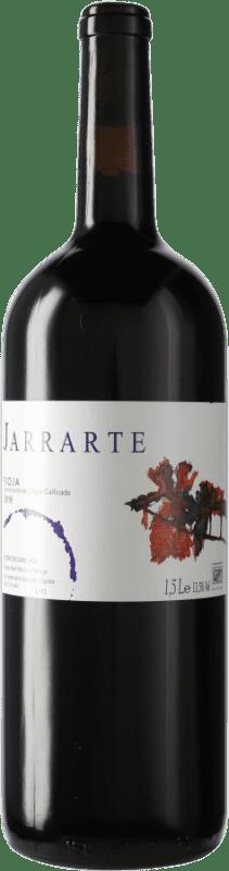 13,95 € Kostenloser Versand | Rotwein Abel Mendoza Jarrarte Joven D.O.Ca. Rioja Spanien Tempranillo Magnum-Flasche 1,5 L