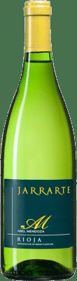 6,95 € Kostenloser Versand | Weißwein Abel Mendoza Jarrarte D.O.Ca. Rioja Spanien Viura, Malvasía, Grenache Weiß, Torrontés Flasche 75 cl