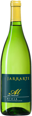 6,95 € Free Shipping | White wine Abel Mendoza Jarrarte D.O.Ca. Rioja Spain Viura, Malvasía, Grenache White, Torrontés Bottle 75 cl