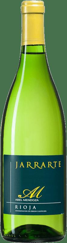 6,95 € Envoi gratuit | Vin blanc Abel Mendoza Jarrarte D.O.Ca. Rioja Espagne Viura, Malvasía, Grenache Blanc, Torrontés Bouteille 75 cl