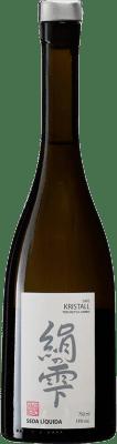 28,95 € Envío gratis | Sake Seda Líquida Kristall España Botella 70 cl