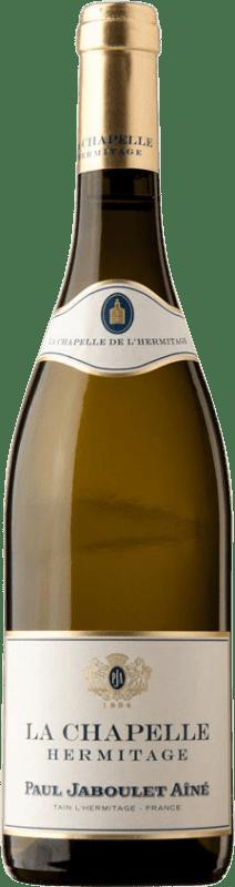 239,95 € Envío gratis | Vino blanco Jaboulet Aîné La Chapelle Blanc A.O.C. Hermitage Francia Marsanne Botella 75 cl