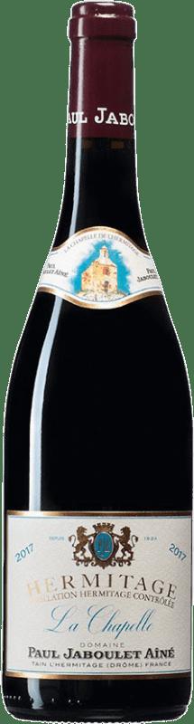 291,95 € Envío gratis | Vino tinto Jaboulet Aîné La Chapelle A.O.C. Hermitage Francia Syrah Botella 75 cl