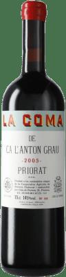 104,95 € Free Shipping | Red wine Cims de Porrera La Coma de Ca l'Anton Grau 2005 D.O.Ca. Priorat Catalonia Spain Carignan Bottle 75 cl