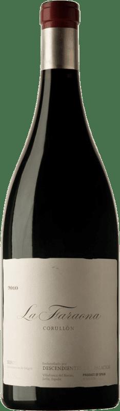 4 405,95 € Envío gratis | Vino tinto Descendientes J. Palacios La Faraona 2010 D.O. Bierzo Castilla y León España Mencía Botella Jéroboam-Doble Mágnum 3 L