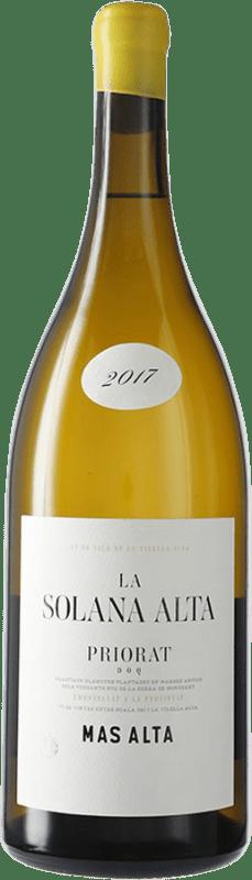 93,95 € Envío gratis | Vino blanco Mas Alta La Solana Alta D.O.Ca. Priorat Cataluña España Garnacha Blanca Botella Mágnum 1,5 L