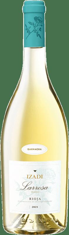 6,95 € Free Shipping | White wine Izadi Larrosa D.O.Ca. Rioja Spain Grenache White Bottle 75 cl
