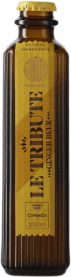 1,95 € Free Shipping | Refreshment MG Le Tribute Ginger Beer Spain Small Bottle 20 cl