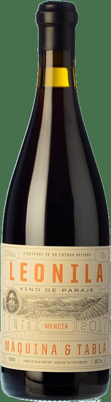 19,95 € Envoi gratuit | Vin rouge Máquina & Tabla Leonila D.O. Bierzo Castille et Leon Espagne Mencía Bouteille 75 cl
