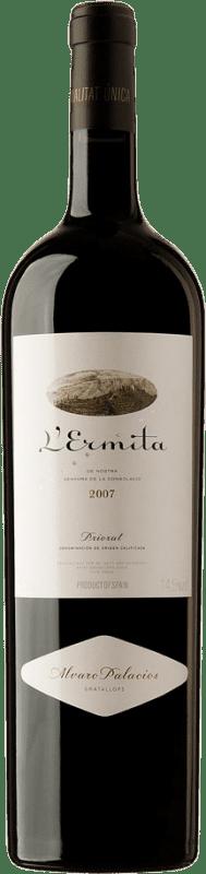 4 245,95 € Envoi gratuit   Vin rouge Álvaro Palacios L'Ermita 2007 D.O.Ca. Priorat Catalogne Espagne Grenache, Cabernet Sauvignon Bouteille Jéroboam-Doble Magnum 3 L